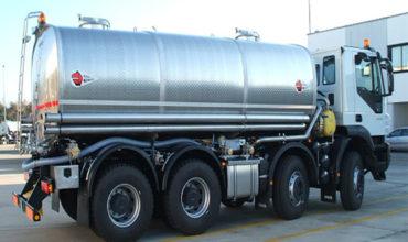 Cisterne distribuzione acqua